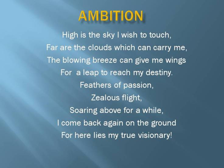 Wings of Ambition!