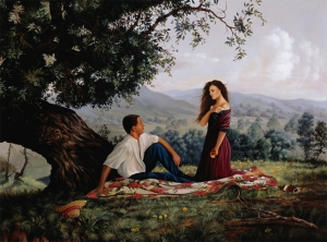 realist-painting-summer-romance