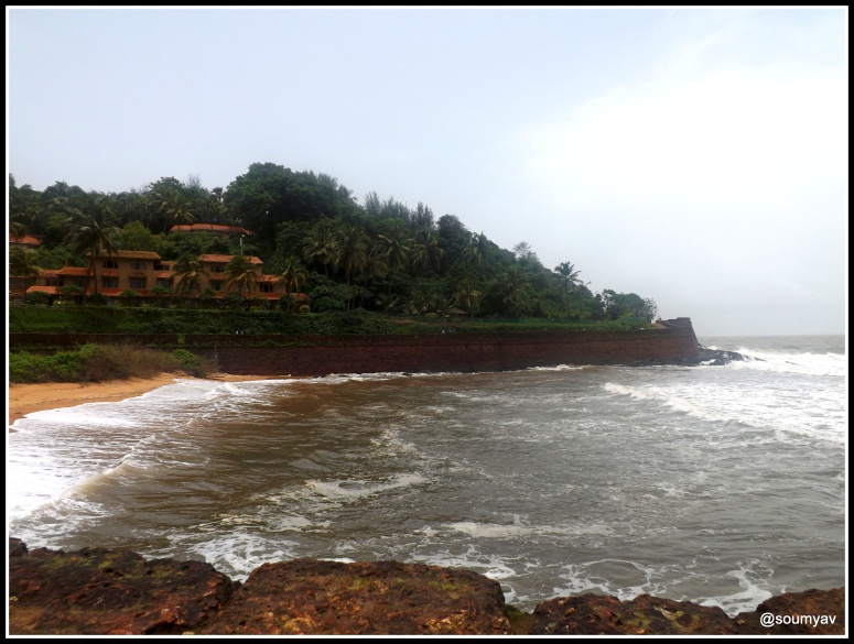Beside Taj Aguada