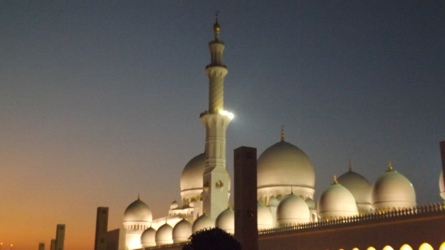 Grand Mosque , AbuDhabi ©Soumya